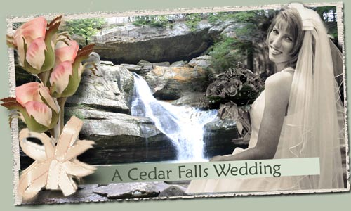 Hocking Hills WEddings - Cedar Falls