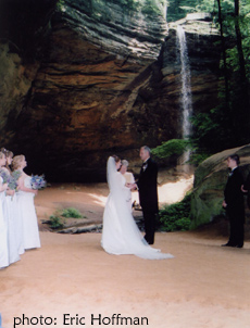 Ash Cave Wedding Hocking Hills