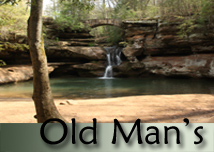 Old Mans Hocking Hills Wedding