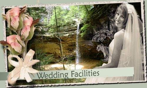 Wedding Places in the Hocking Hills